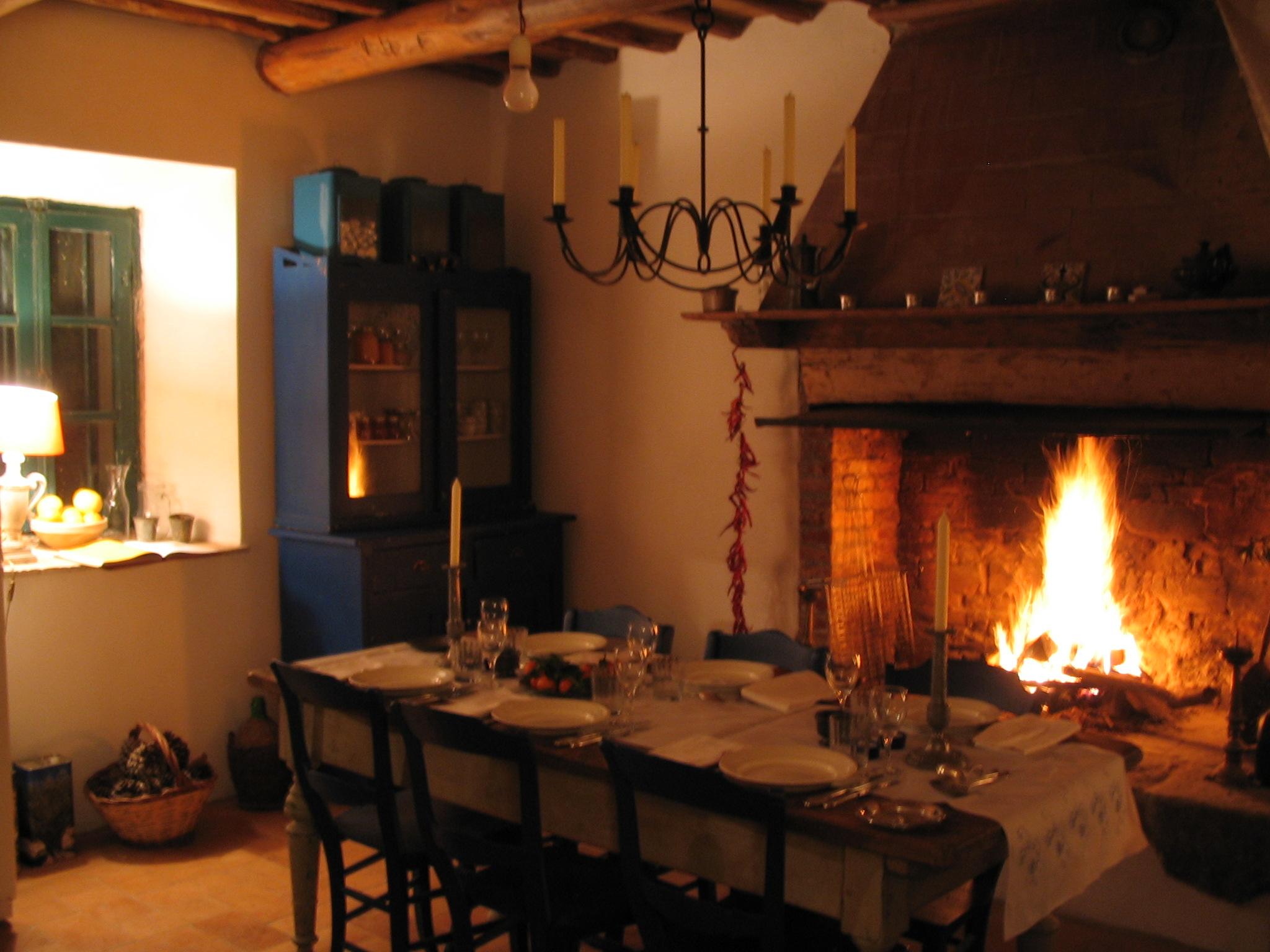 De keuken met openhaard fraticello - De keuken ...
